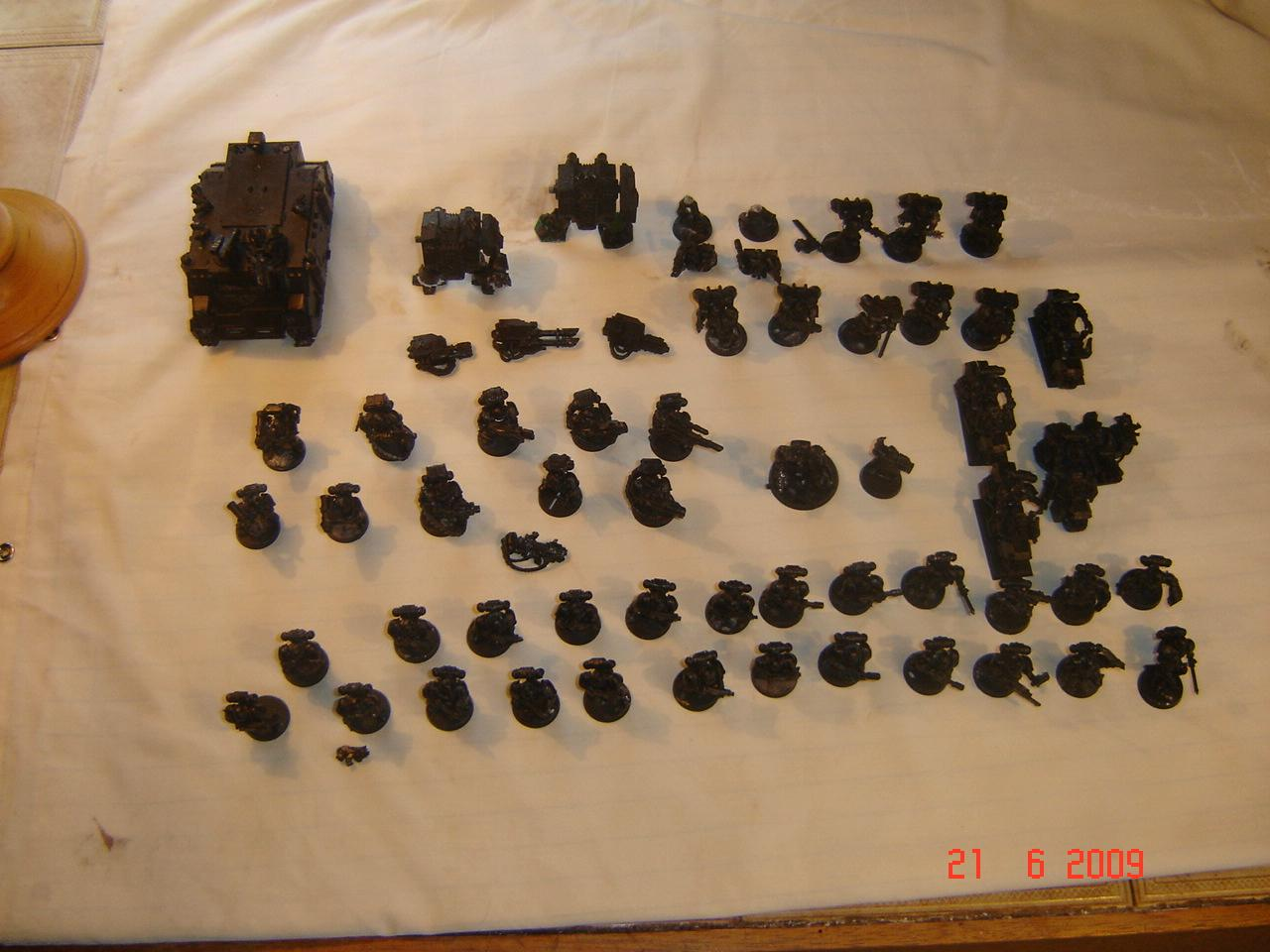 Space Marines, Tope view of E-bay Space Marines