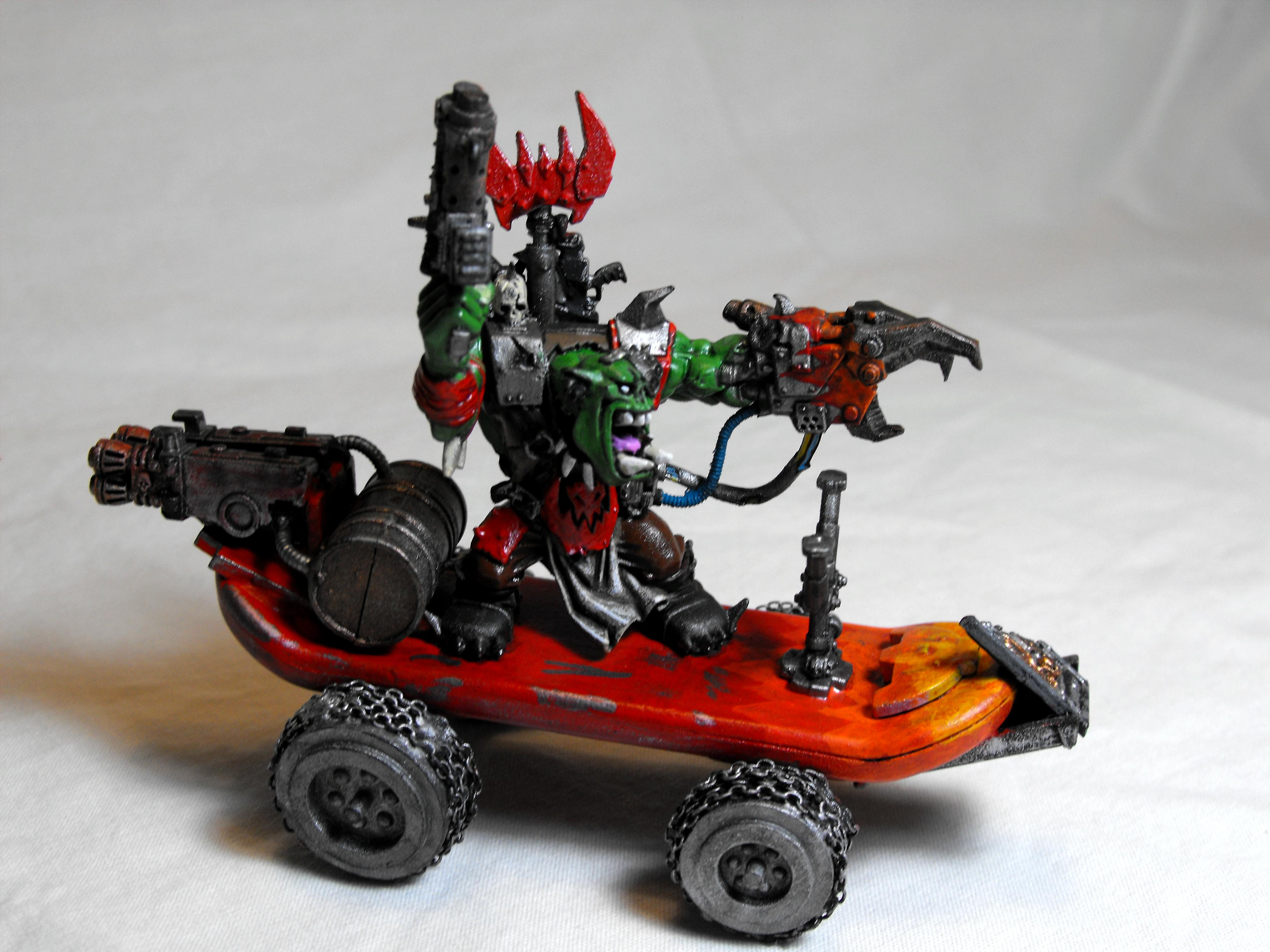 Conversion, Orks, Warboss, Warhammer 40,000