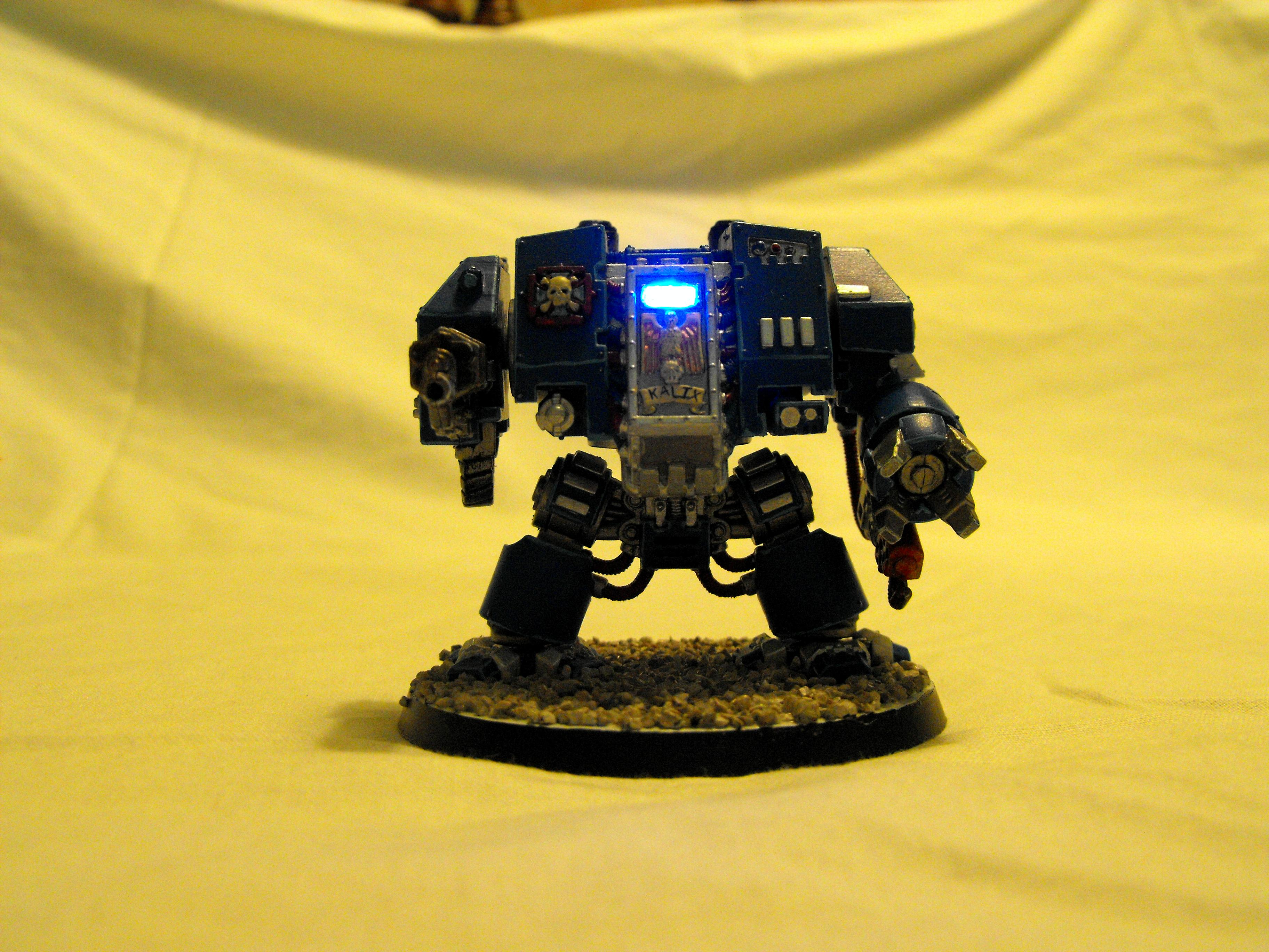 Dreadnought, LED, Space Marines, Warhammer 40,000