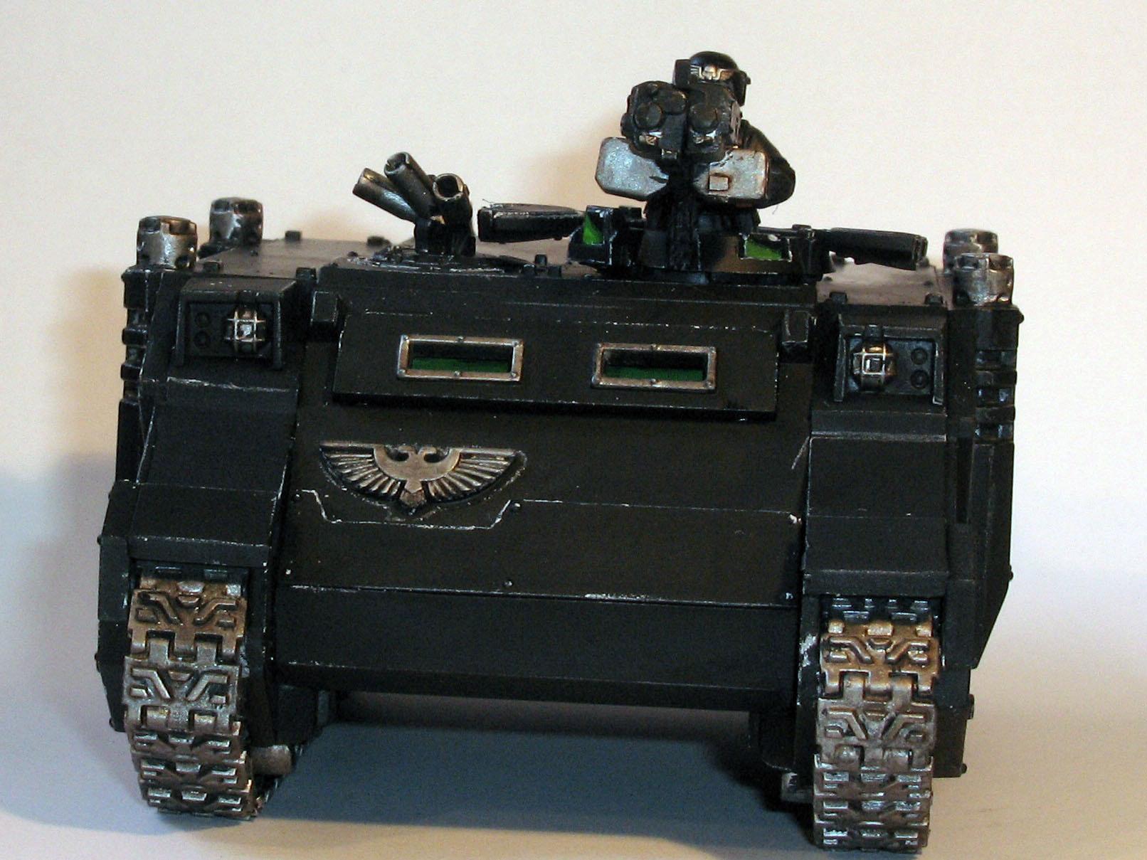 Adeptus Arbites, Necromunda, Rhino, Riot Vehicle