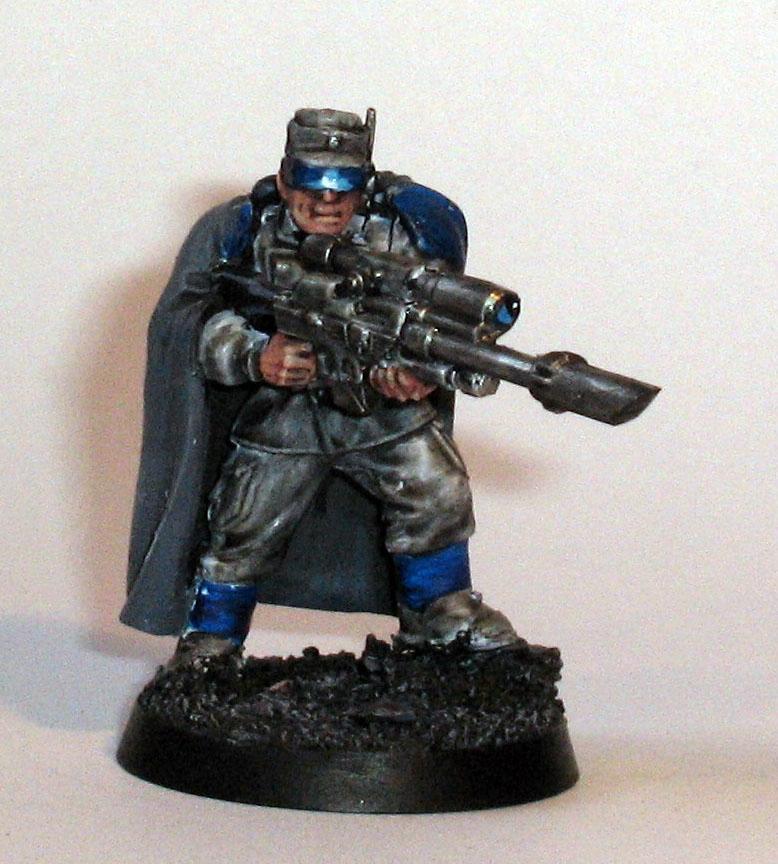 Imperial Guard, Necromunda, Police, Snipers