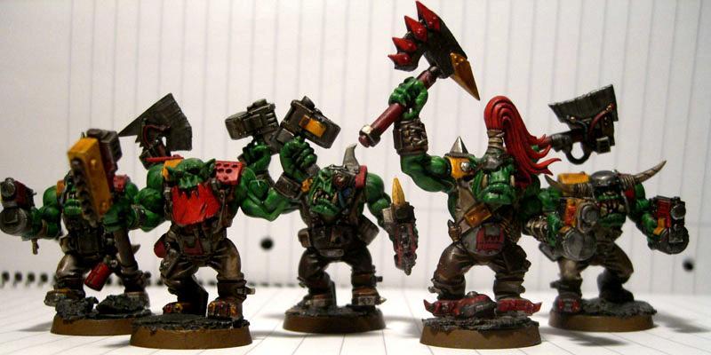 Krimson Gob, Nob, Orks, Warhammer 40,000