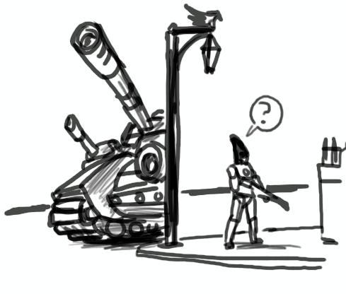 Creed, Tactical Genius
