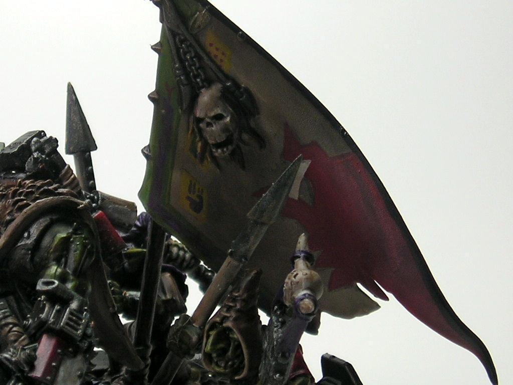 Flag, Orks, Snakebite, Warboss, Warhammer 40,000