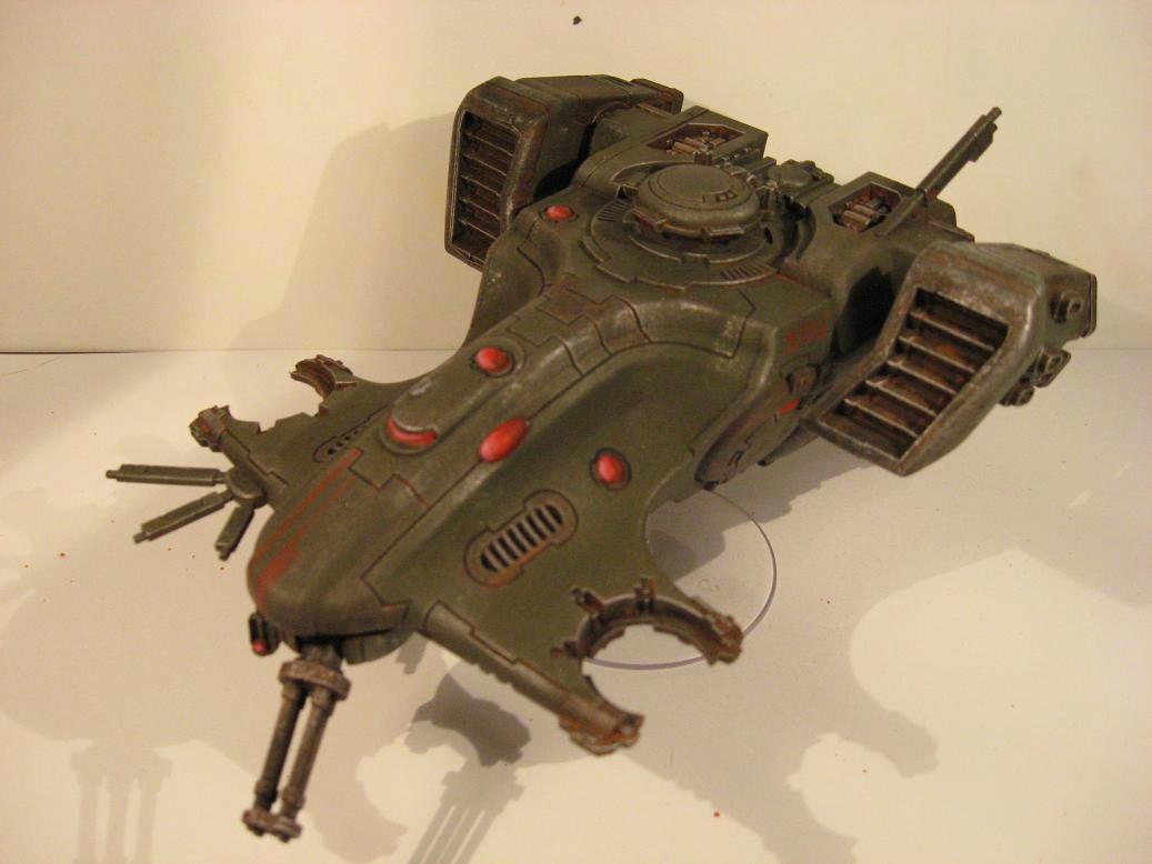 28mm, Armored Vehicle, Games Workshop, Science-fiction, Skimmer, Tau, Warhammer 40,000