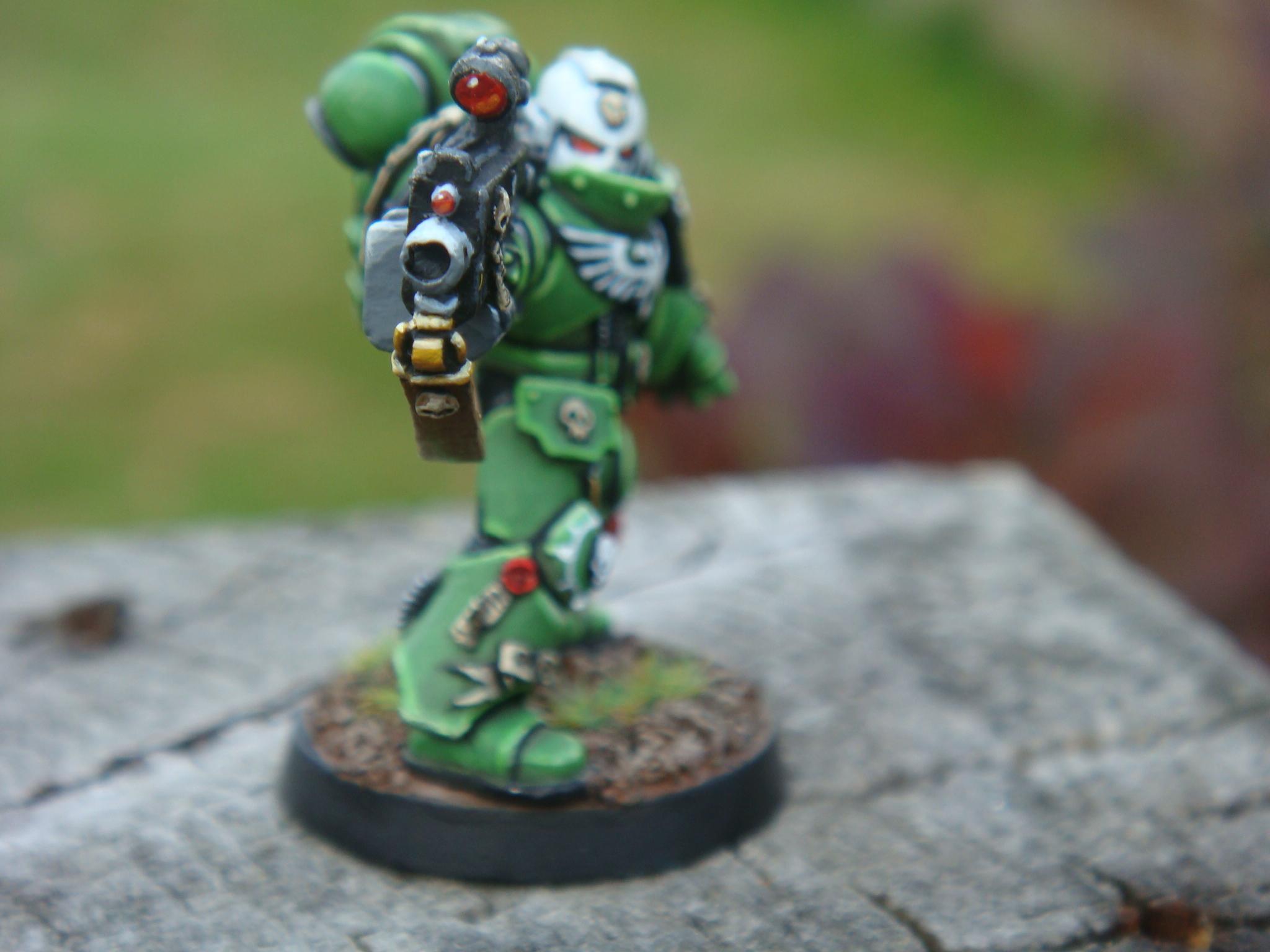 Elites, Sons Of Medusa, Space Marines, Sternguard Vetran