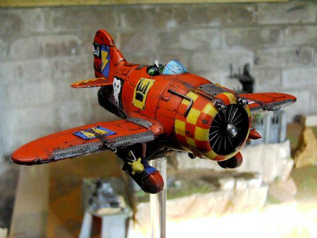 Fighta Bomba, Flyer, Orks, Toy