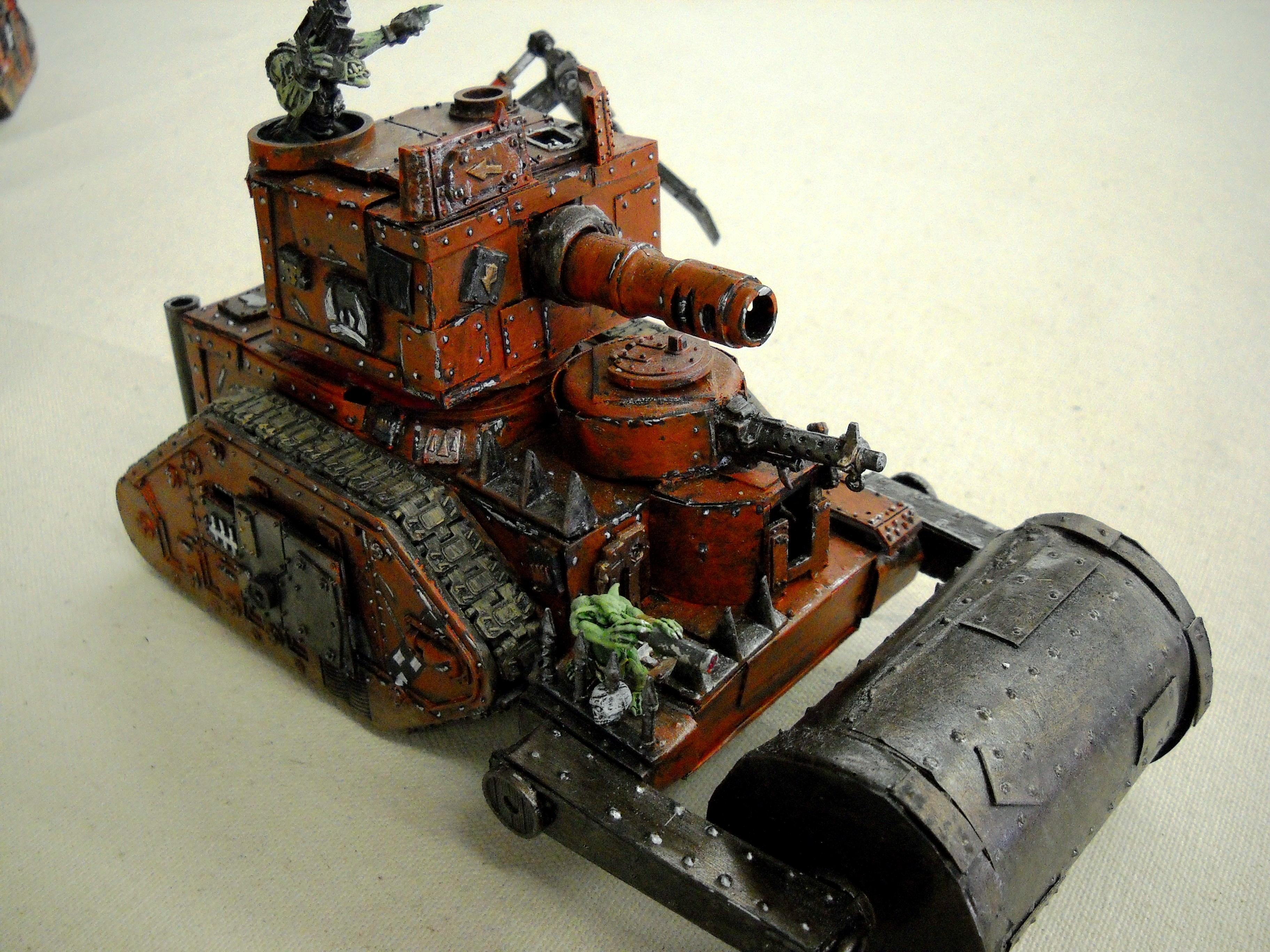 Battlewagon, Guard Abuse, Orks, Warhammer 40,000