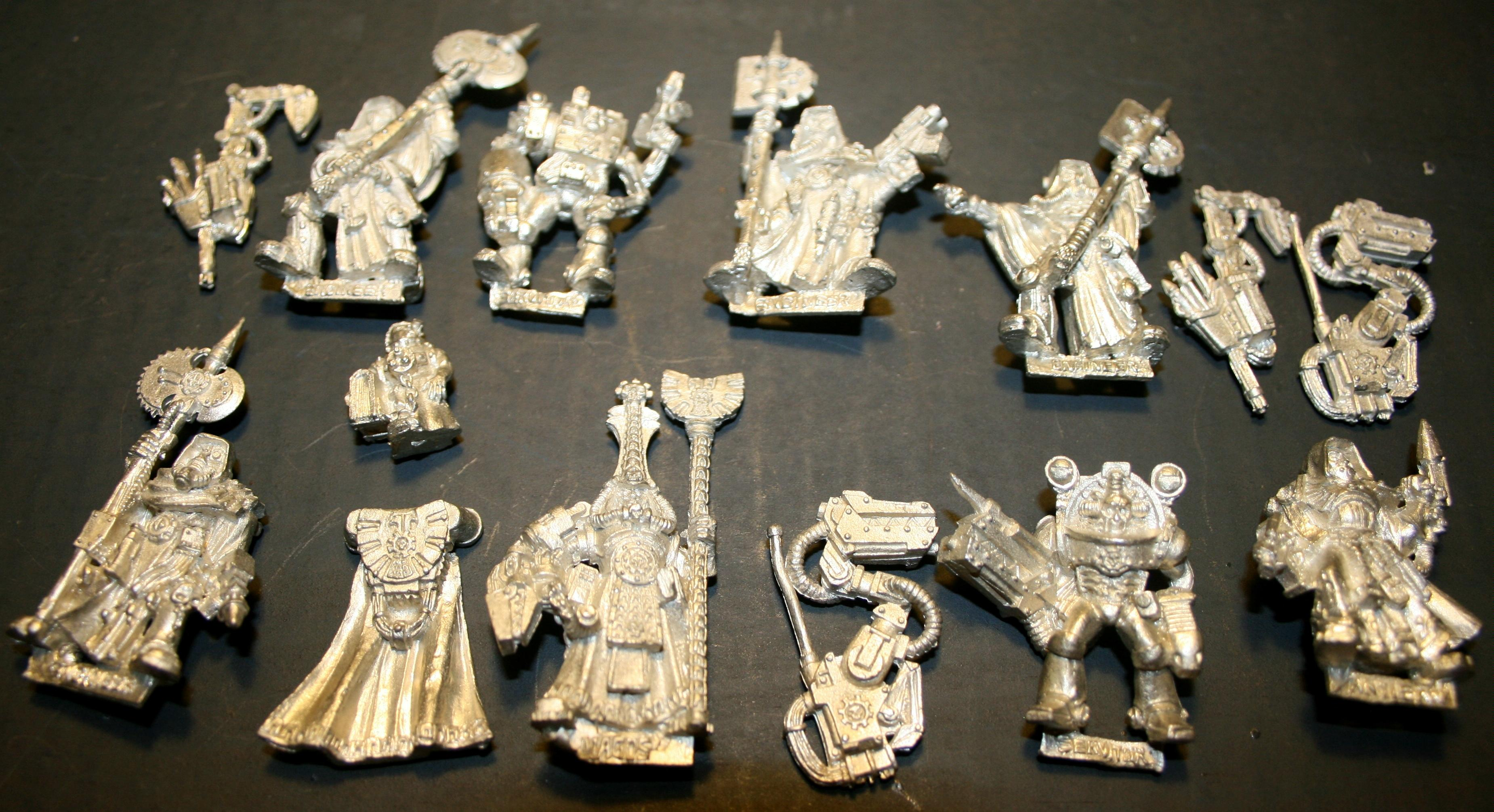 Adeptus Mechanicus, Limited Edition, Out Of Production, Skullz, Tech Marine, Tech Priest