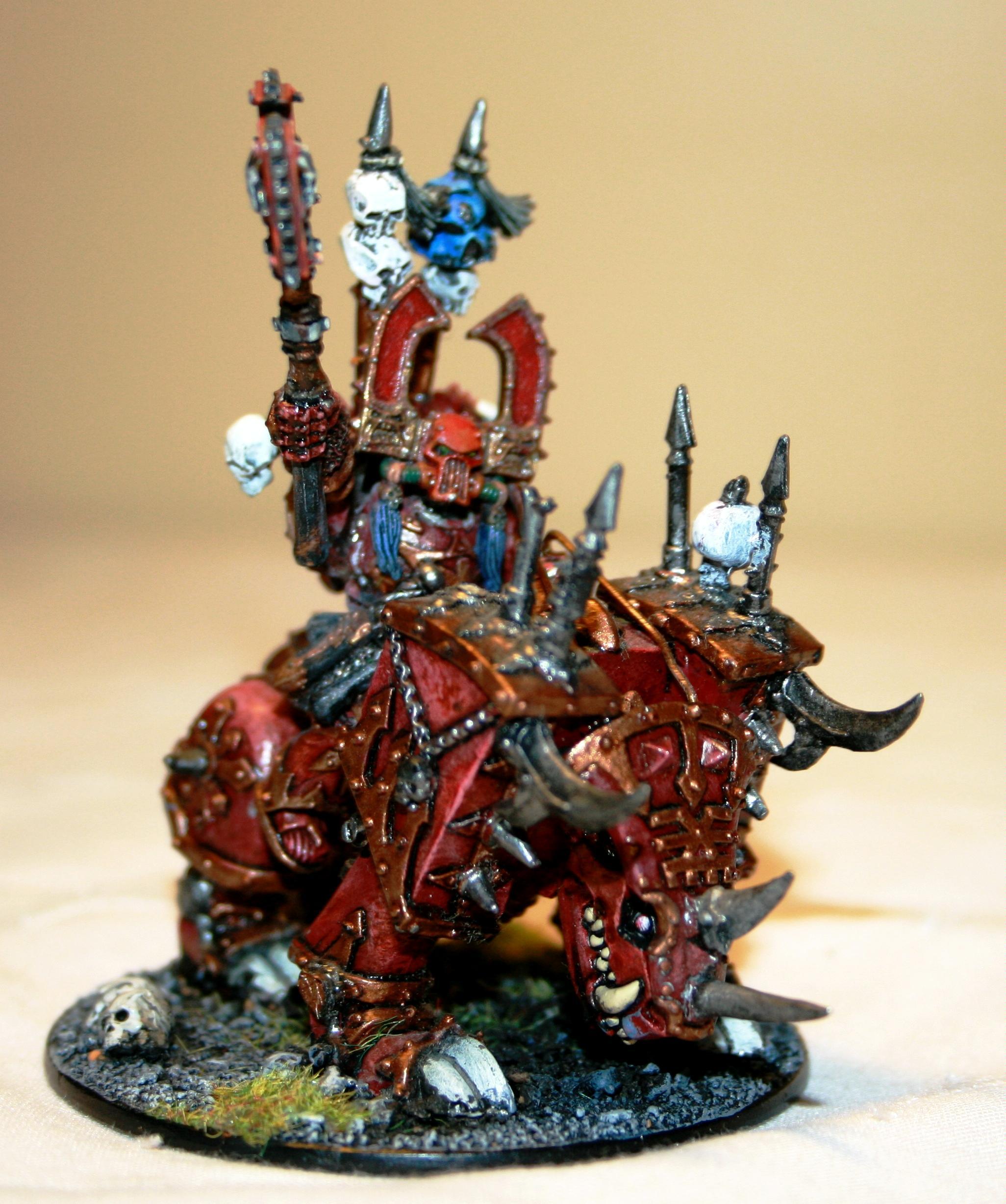 Champion, Chaos, Conversion, Daemons, Juggernaught, Kharne, Khorne