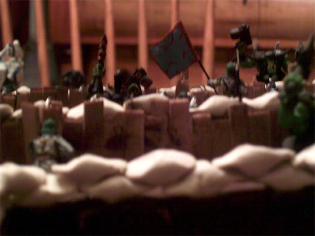 Orks attacking Sir!