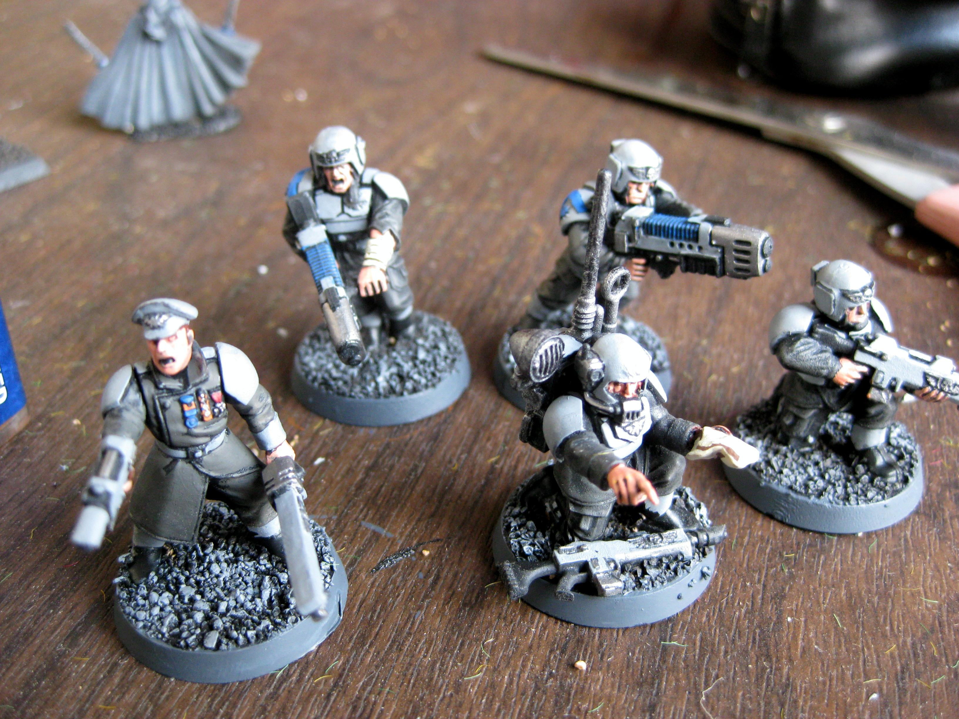 Imperial Guard, Command Squad