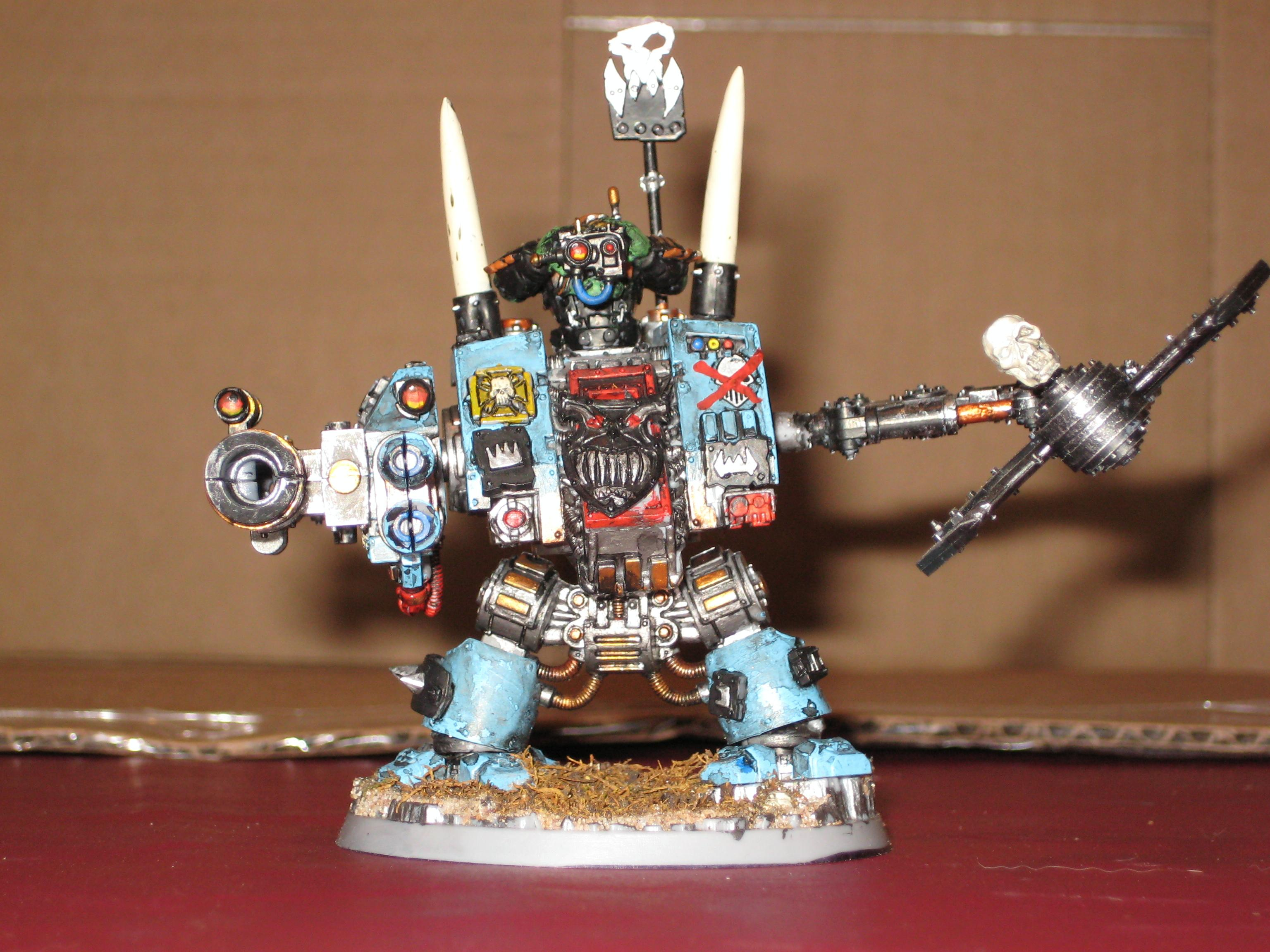 Deff Dread, Dreadnought, Looted, Orks