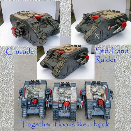 Grey Knights, Land Raider