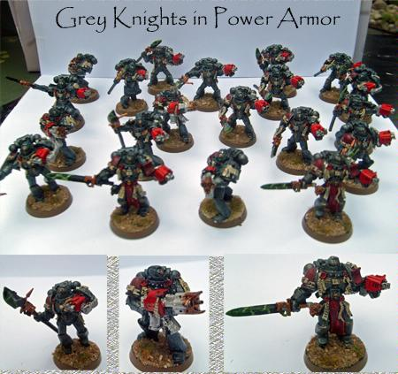Grey Knights, Space Marines, Warhammer 40,000