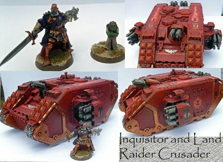 Familiar, Grey Knights, Inquisition, Inquisitor, Land Raider