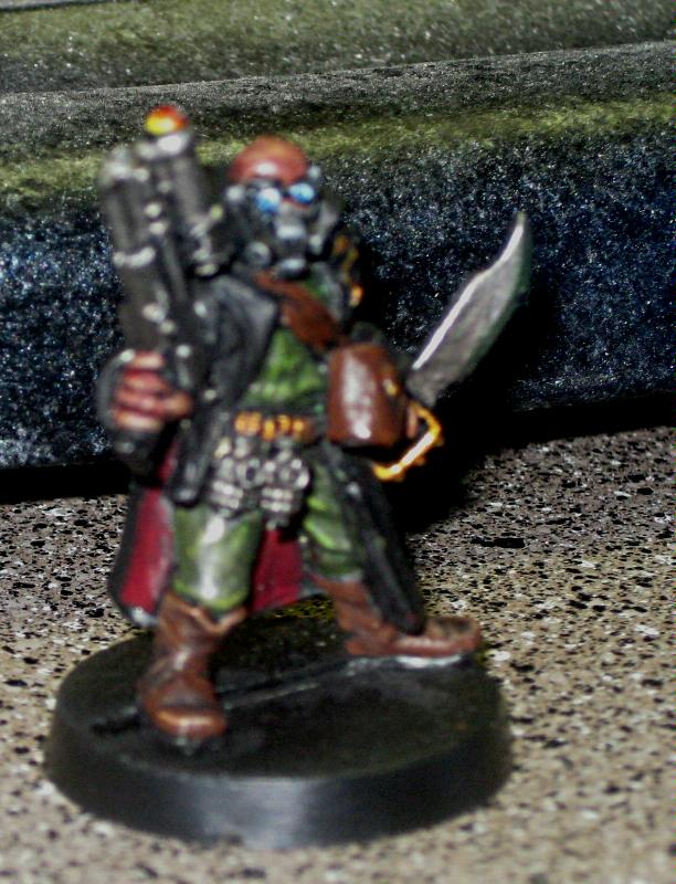 Imperial Guard, Marbo, Necromunda