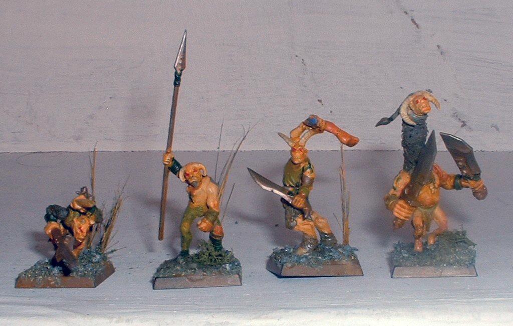Beastmen, Gor, Nurgle, Ungor