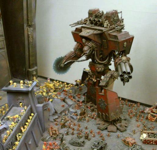 Apocalypse, Buzzsaw, Chaos, Chaos Titan Warlord