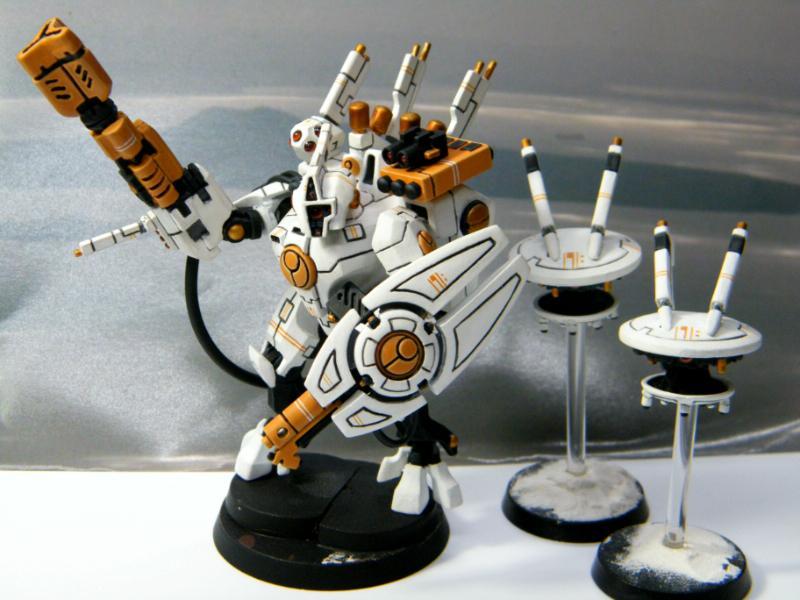 Dawn Of War  Tau Commander Builds