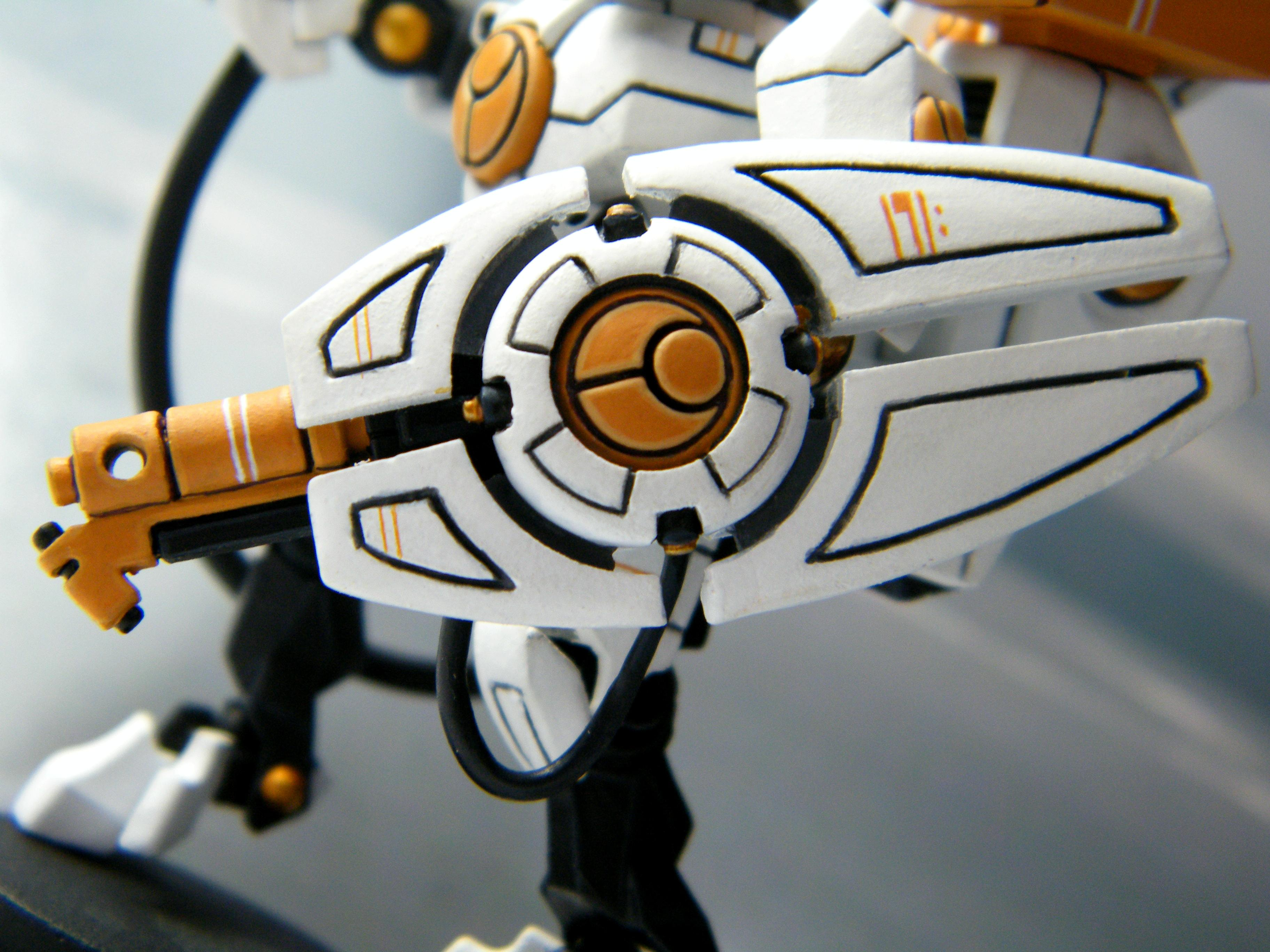 Details, Tau, Warhammer 40,000, White
