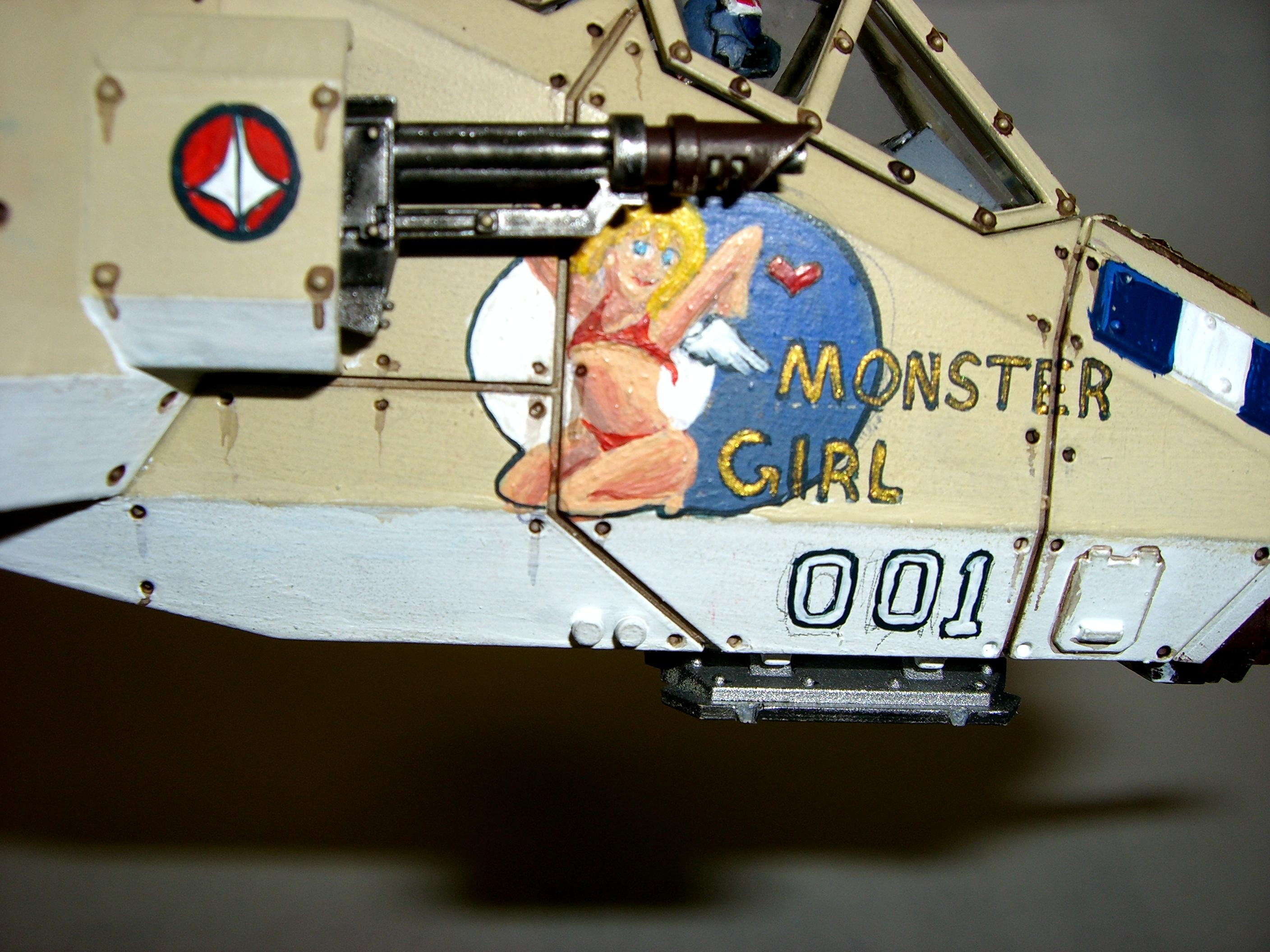 Freehand, Nose Art, Valkyrie