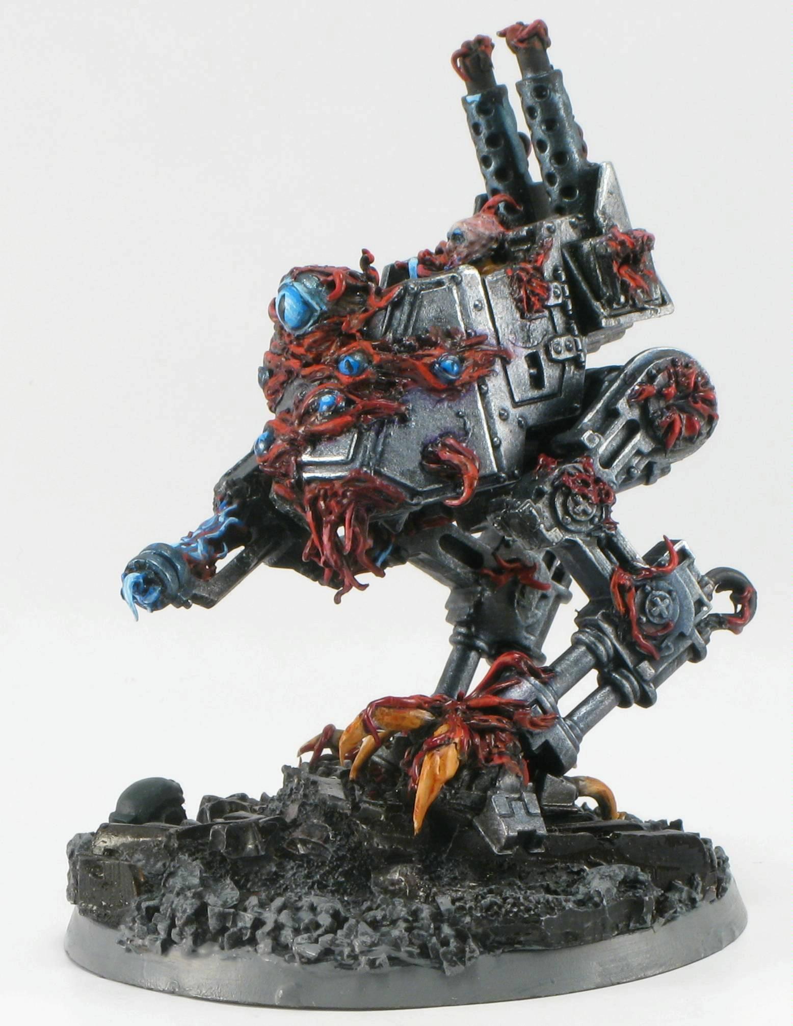 Chaos Daemons, Conversion, Daemon Prince, Daemons, Sentinel, Tzeentch