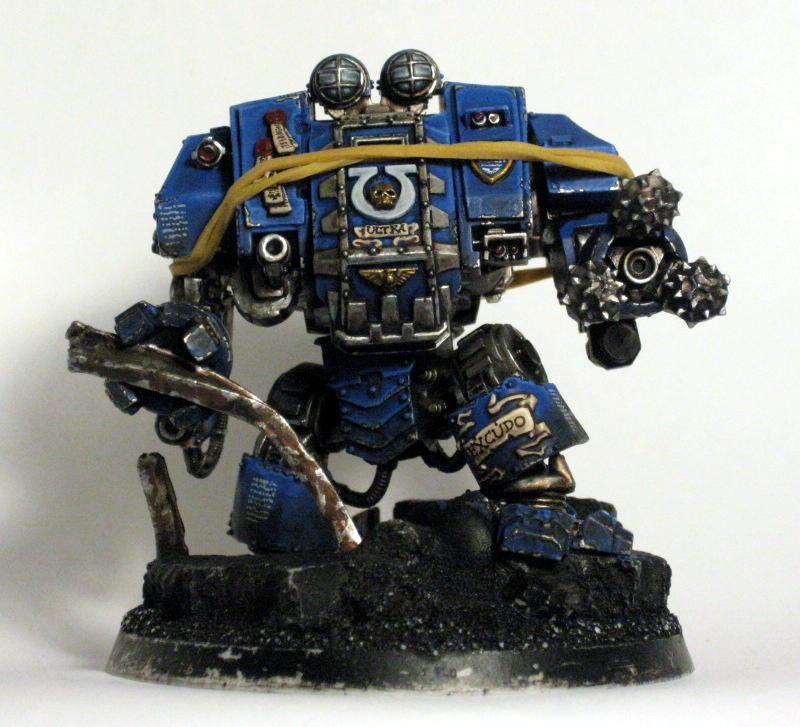 Dreadnought, Drill, Forge World, Ironclad, Ultramarines, Work In Progress