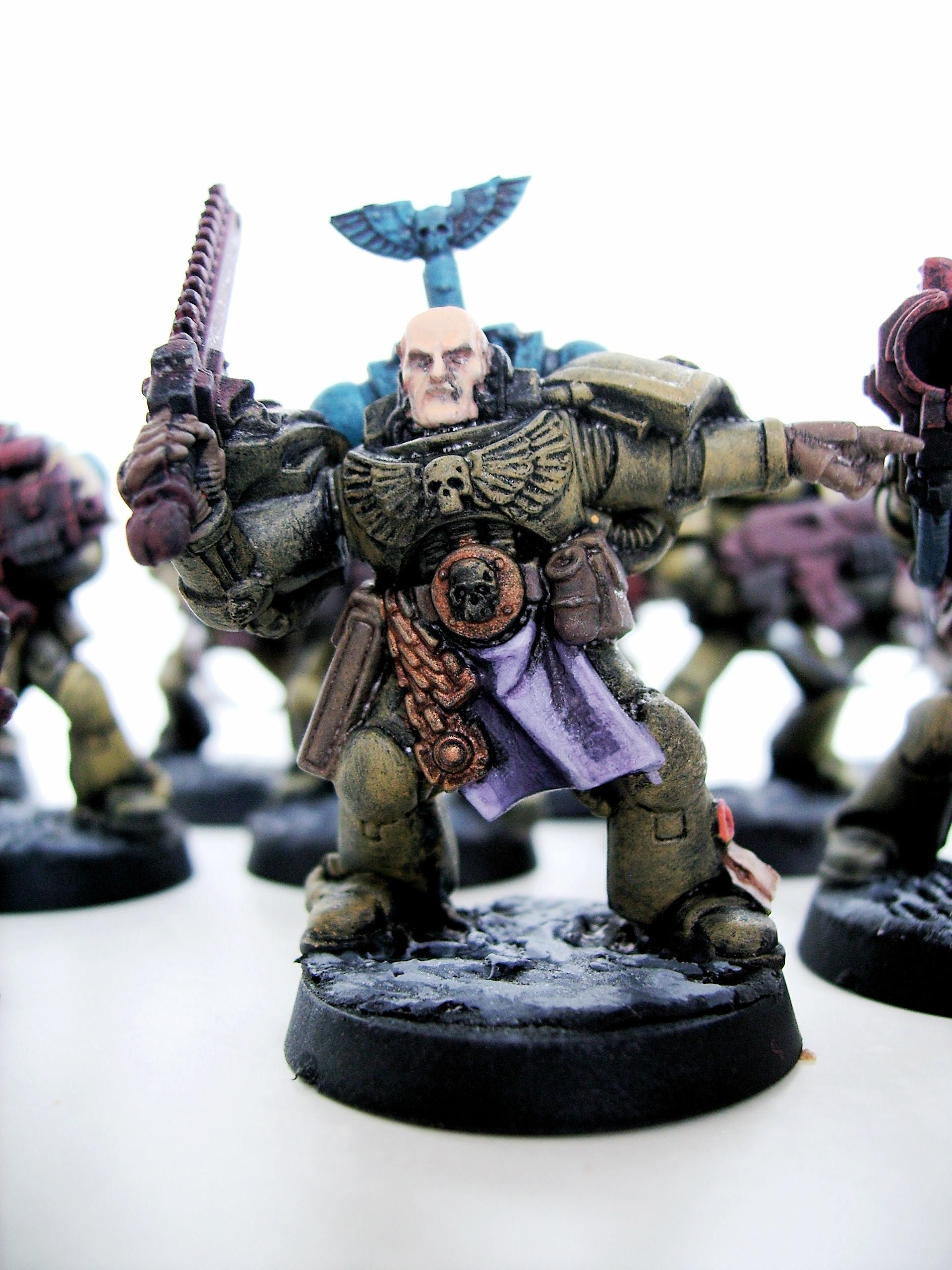 Space Marines, Space marines seargent