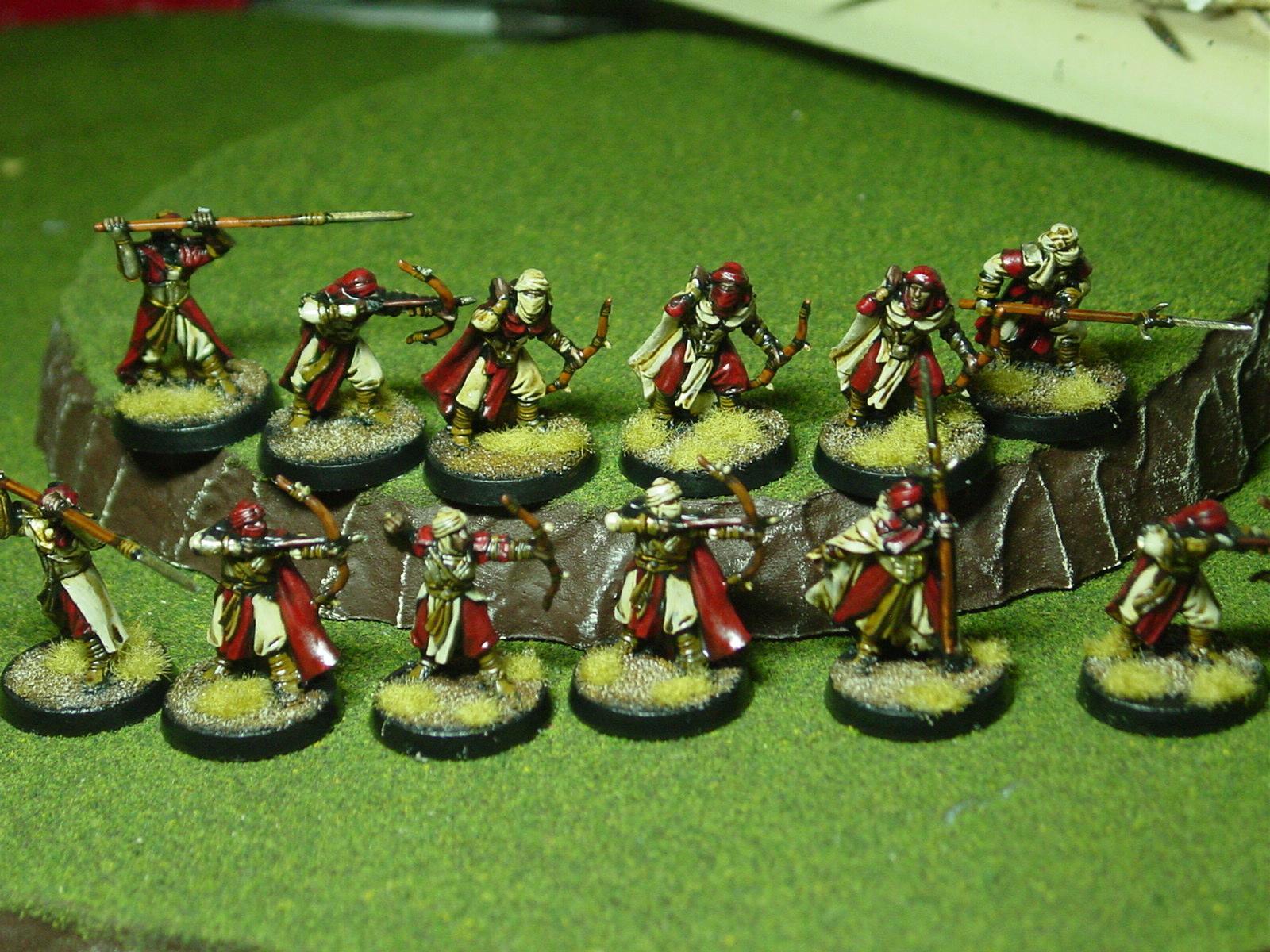 Archers, Harad, Warriors