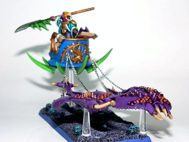 Chaos, Chaos Daemons, Chariot, Tzeentch, Warhammer 40,000, Warhammer Fantasy