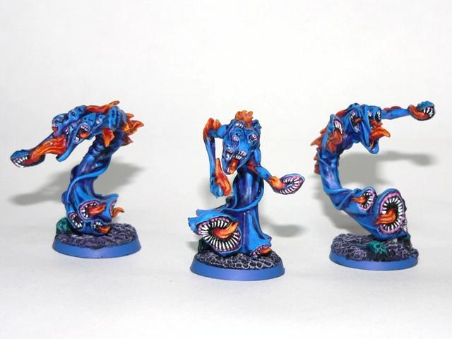 Chaos, Chaos Daemons, Flamers, Tzeentch, Warhammer 40,000, Warhammer Fantasy