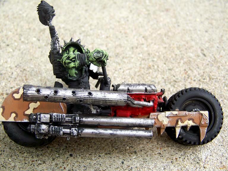 Bike, Orks, Scratch Build