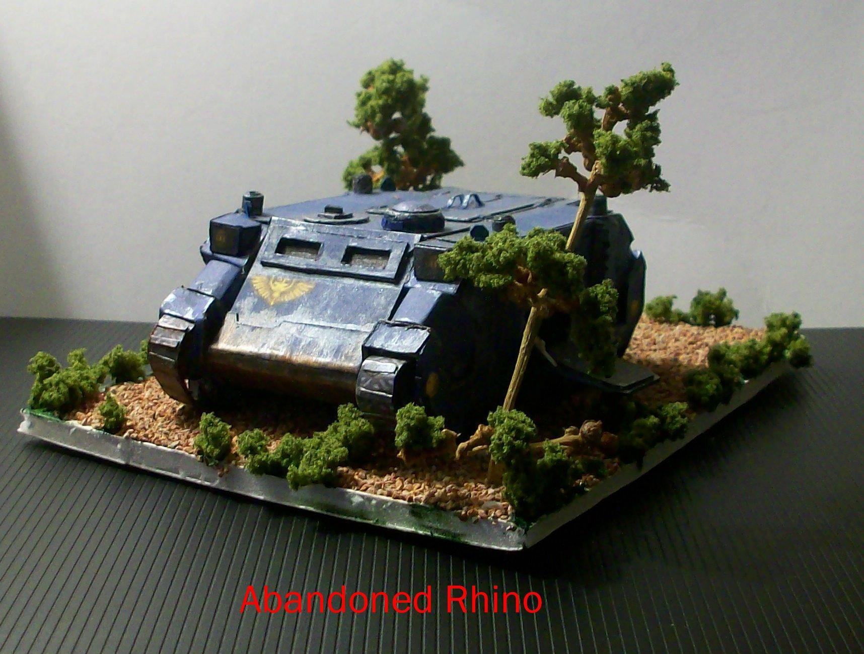 Cardstock, Rhino, Space Marines