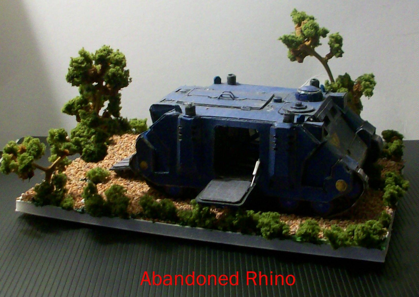 Cardstock, Rhino, Scratch Build