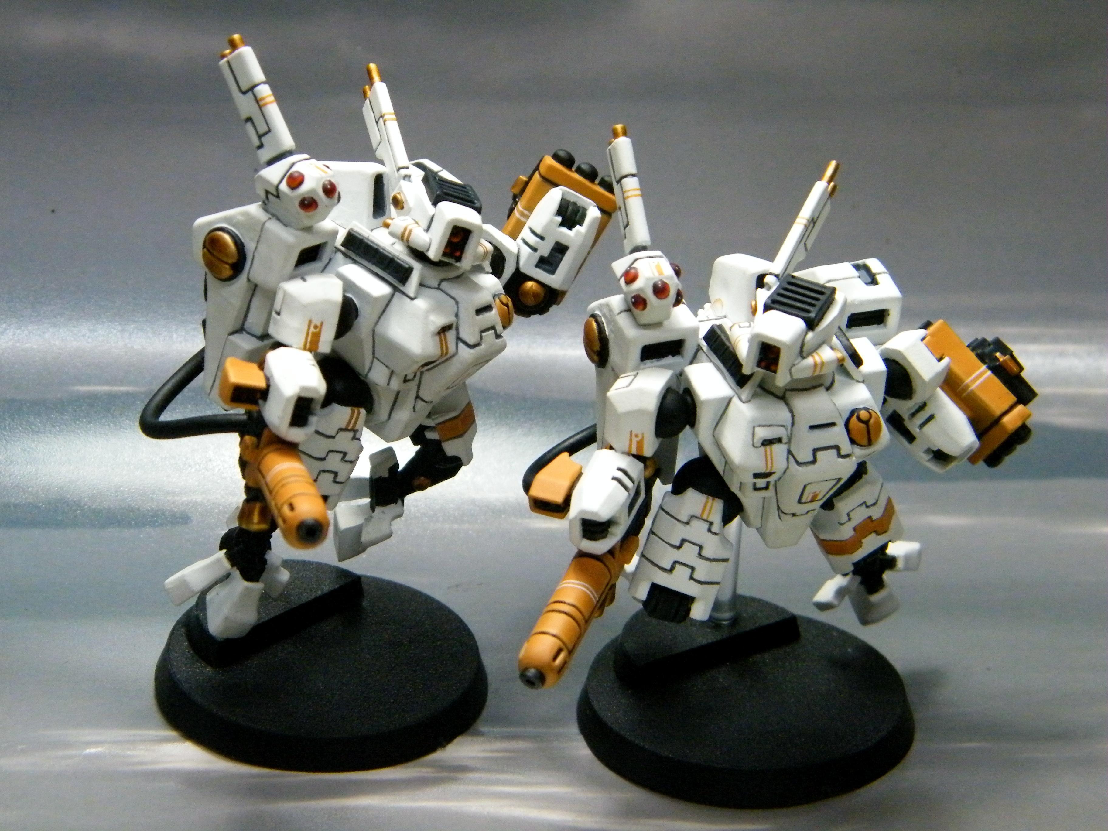 Battlesuit, Tau, White