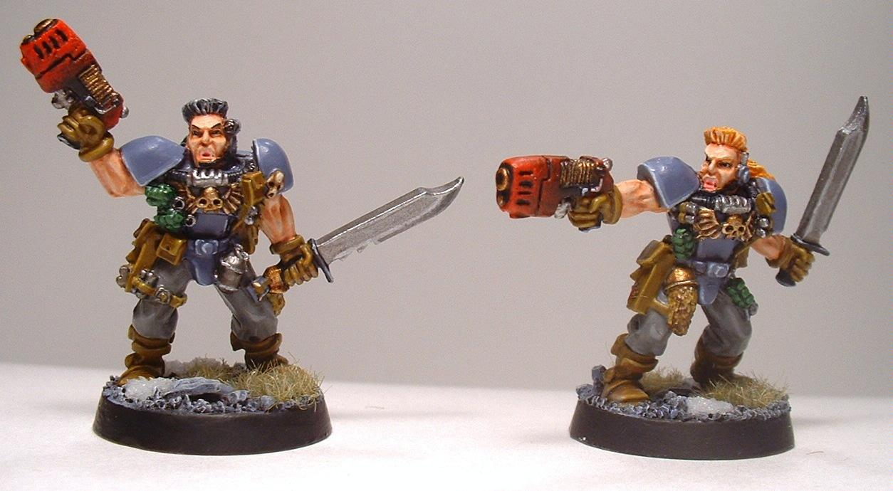 Conversion, Space Wolves, Warhammer 40,000, Wolf Scouts