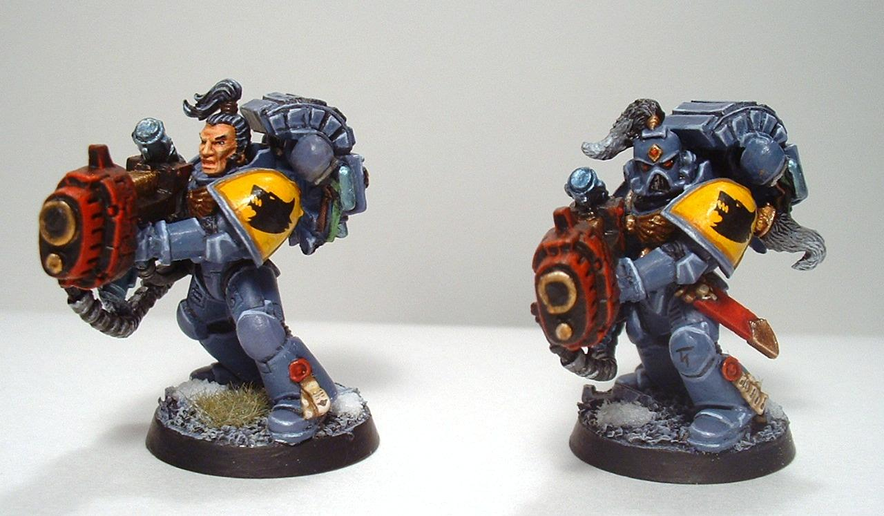 Long Fangs, Space Wolves, Warhammer 40,000