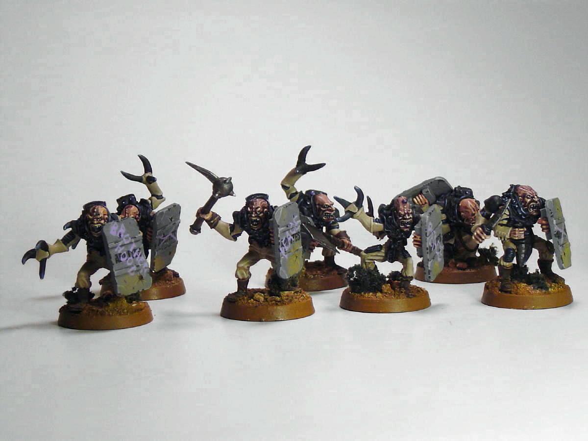 Cult, Genestealer, Hybrid, Hybrids, Shields, Tyranids