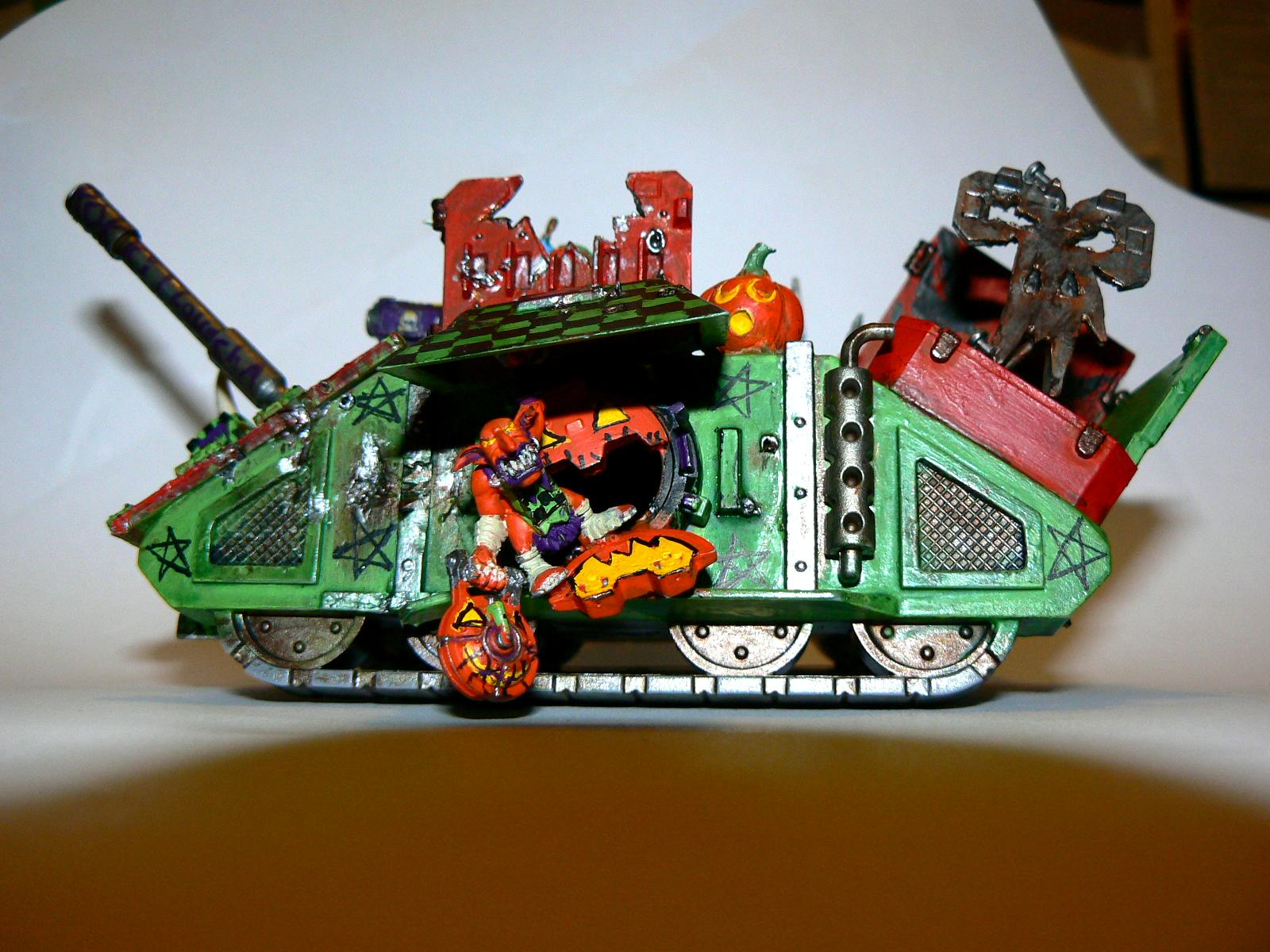 Looted Wagon, Orange, Orks, Pumkpkin, Rhino