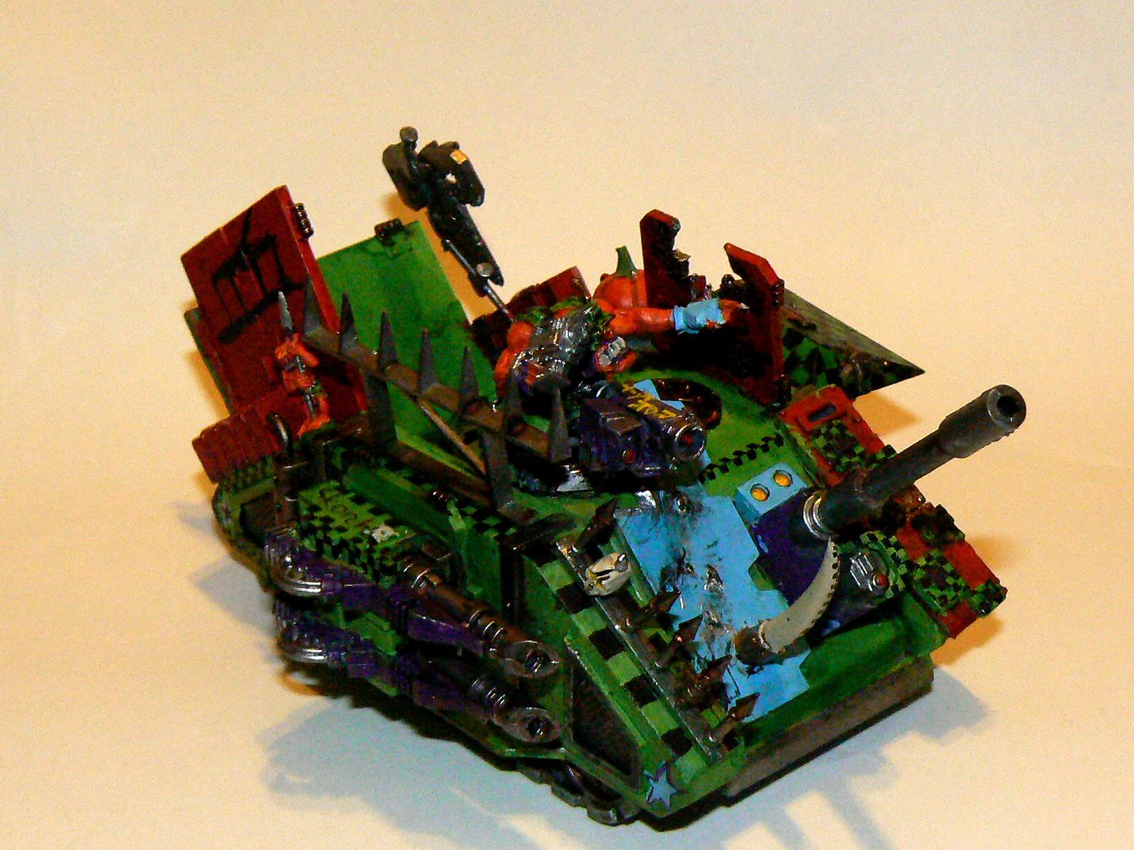 Looted Wagon, Orange, Orks, Pumkpkin