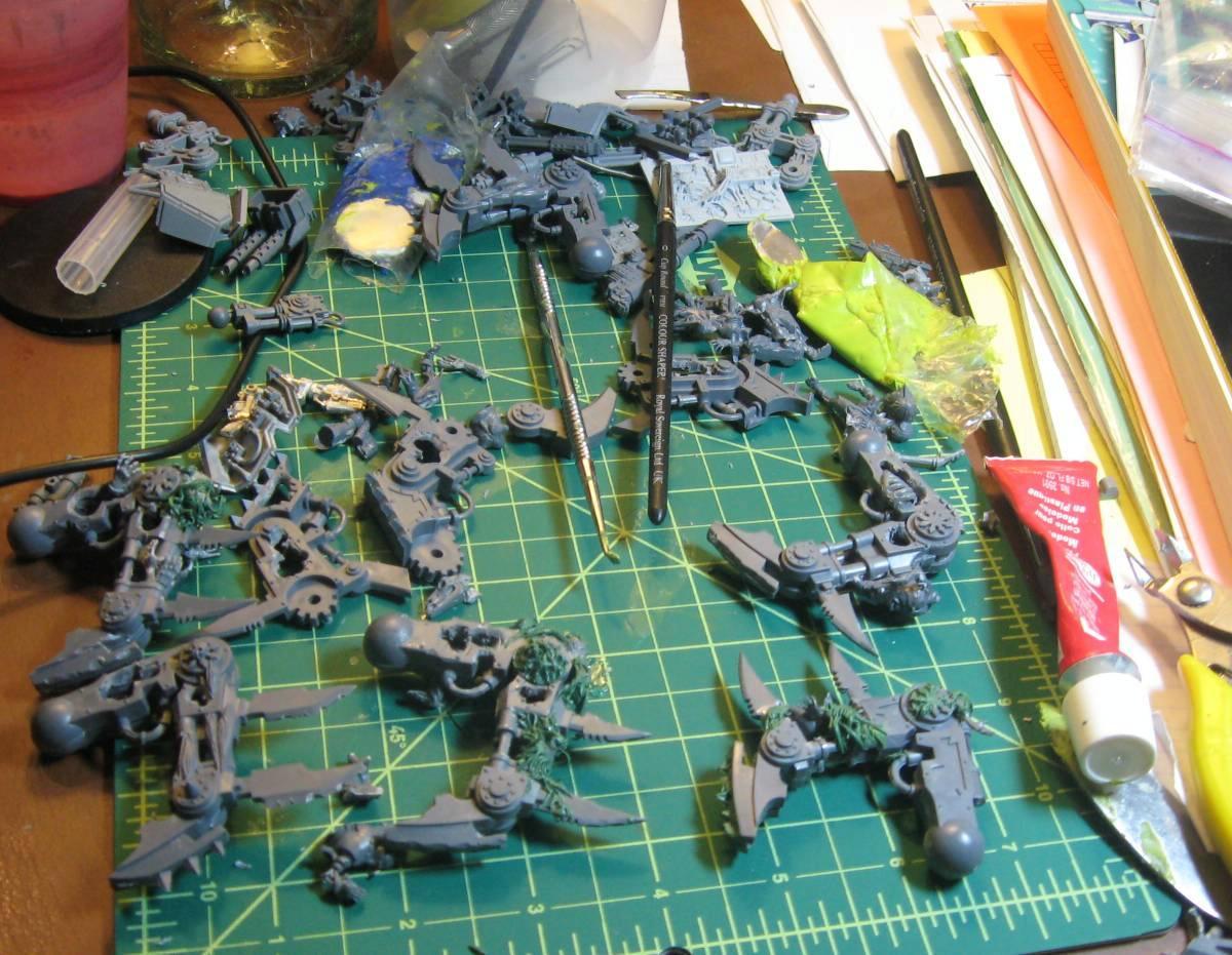 Chaos Daemons, Conversion, Daemons, Soul Grinder, Work In Progress