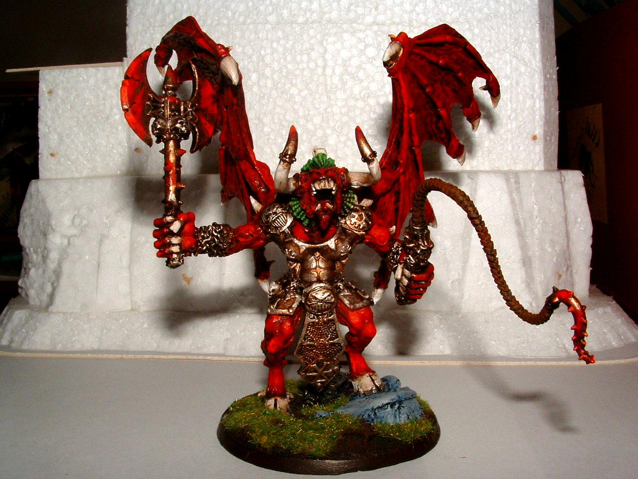 Bloodthirster, Chaos Space Marines, Daemons