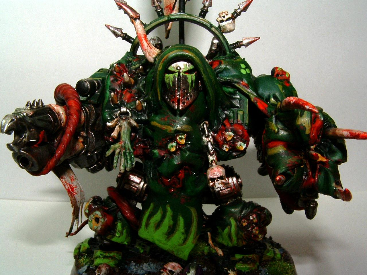 Chaos Space Marines, Dreadnought, Nurgle