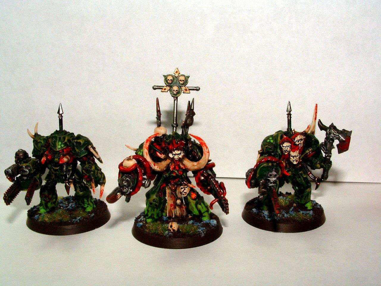Chaos Termies, Nurgle Terminators