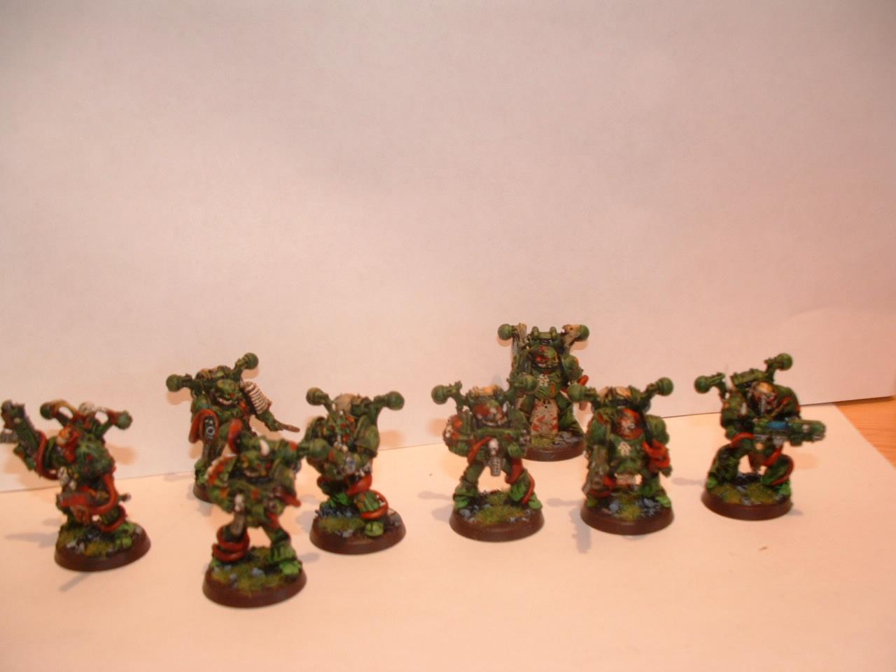 Undying Plauge Marines 2nd squad