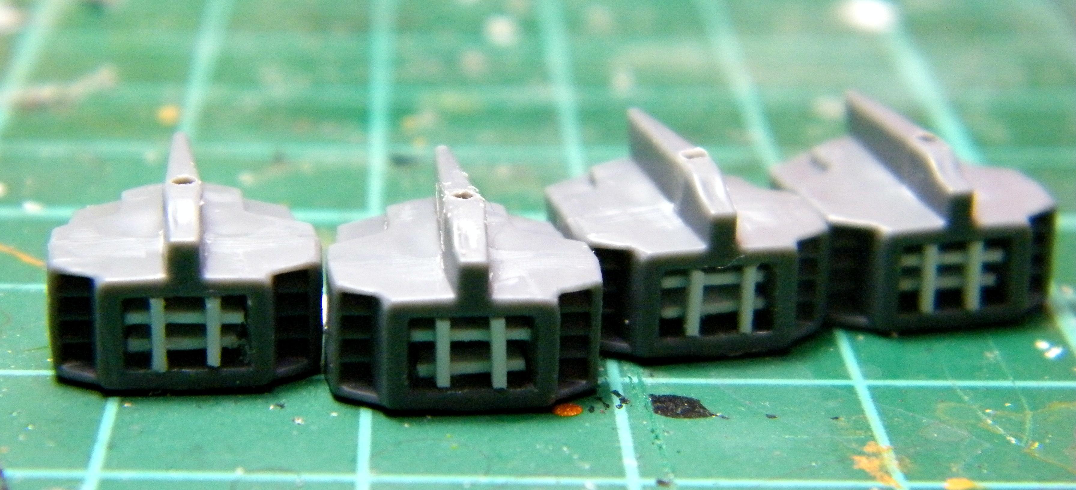 Flechette Dischargers