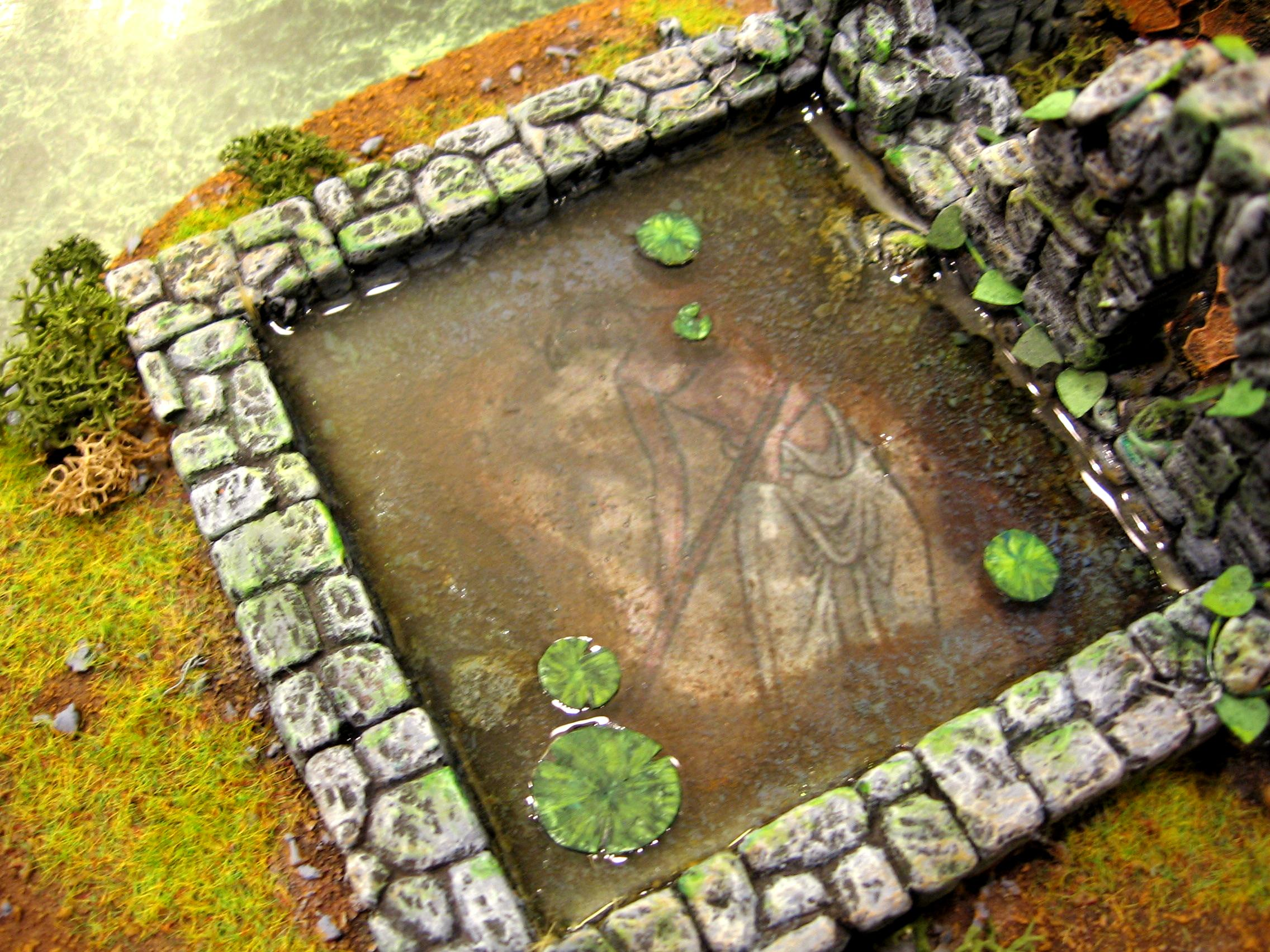 Fantasy Terrain, Pond, Shrine, Terrain, Wood Elves