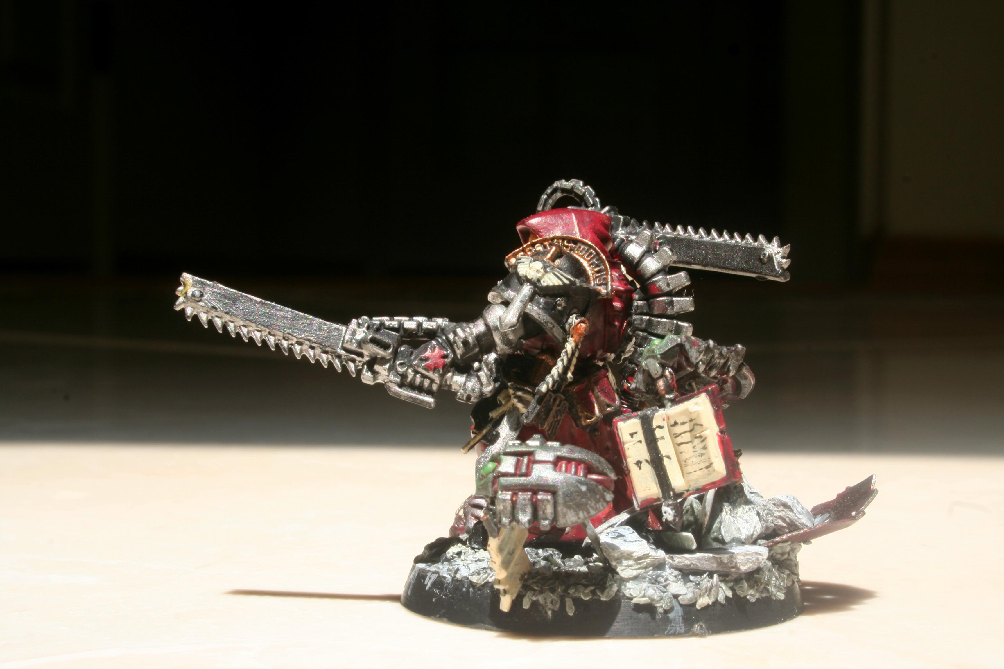 Adeptus Mechanicus, Base, Chainswords, Conversion, Dark Heresy, Necrons, Rpg, Space Marines, Tech Priest