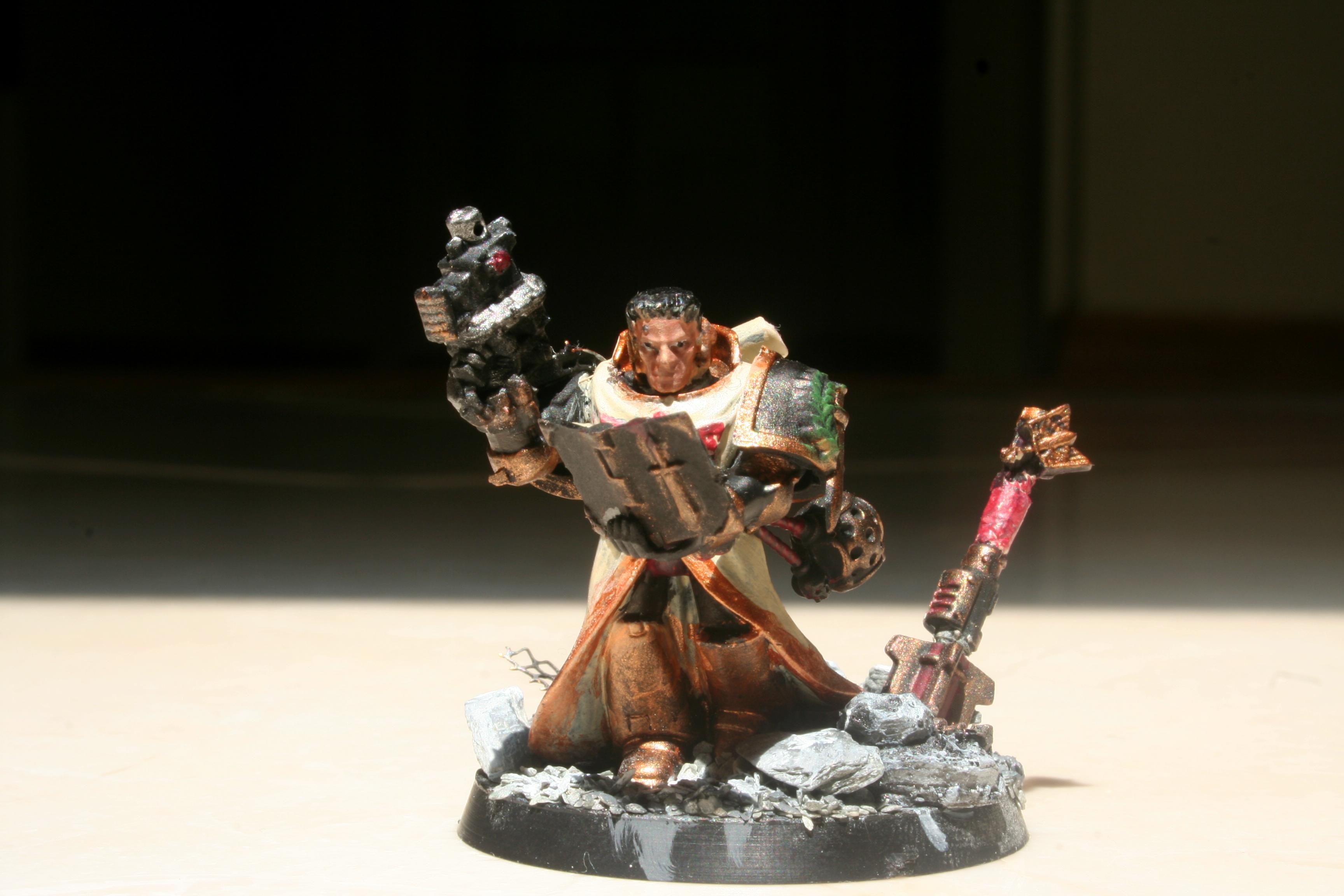 Bolter Pistol, Book, Cleric, Dark Heresy, Imperial, Maul, Rpg, Space Marines